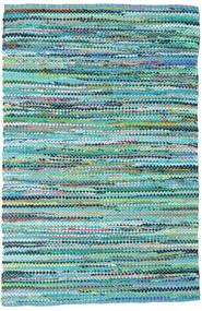 Ronja - グリーン 絨毯 170X240 モダン 手織り ターコイズブルー/水色 (綿, インド)