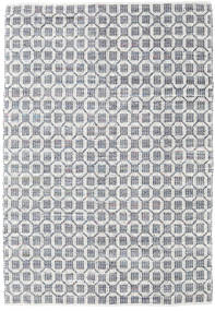 Elna - グレー 絨毯 200X300 モダン 手織り 薄い灰色/ホワイト/クリーム色 (綿, インド)