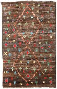 Moroccan Berber - Afghanistan 絨毯 190X304 モダン 手織り 茶/濃い茶色 (ウール, アフガニスタン)