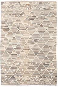 キリム Ariana 絨毯 169X252 モダン 手織り 薄い灰色/ベージュ (ウール, アフガニスタン)
