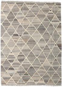 キリム Ariana 絨毯 153X208 モダン 手織り 薄い灰色/ベージュ (ウール, アフガニスタン)