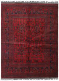 アフガン Khal Mohammadi 絨毯 152X198 オリエンタル 手織り 深紅色の (ウール, アフガニスタン)