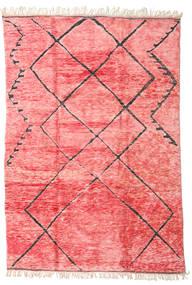 Berber Moroccan - Mid Atlas 絨毯 240X365 モダン 手織り ライトピンク/ピンク (ウール, モロッコ)