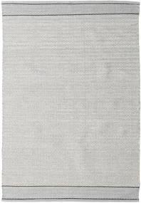 Norma - 黒 絨毯 140X200 モダン 手織り 薄い灰色 (綿, インド)