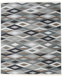 Zimba - グレー 絨毯 250X300 モダン 手織り 薄い灰色/深緑色の 大きな (ウール, インド)