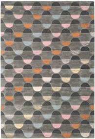 Candy - グレー/Multi 絨毯 200X300 モダン 濃いグレー/薄い灰色 (ウール, インド)