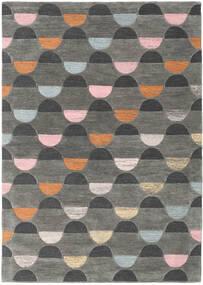Candy - グレー/Multi 絨毯 160X230 モダン 濃いグレー/薄い灰色 (ウール, インド)