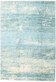 Damask Collection 絨毯 193X282 モダン 手織り ターコイズブルー/水色 ( インド)