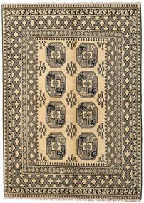 アフガン 絨毯 170X230 オリエンタル 手織り 暗めのベージュ色の/薄茶色 (ウール, アフガニスタン)
