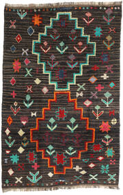 Barchi/Moroccan Berber - Afganistan 絨毯 198X303 モダン 手織り 黒/濃いグレー (ウール, アフガニスタン)