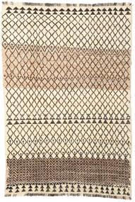 Barchi/Moroccan Berber - Afganistan 絨毯 194X286 モダン 手織り ベージュ/濃い茶色 (ウール, アフガニスタン)