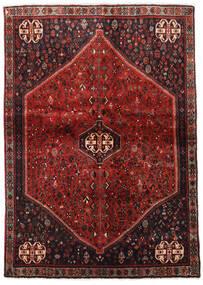 アバデ 絨毯 124X176 オリエンタル 手織り 深紅色の/濃い茶色 (ウール, ペルシャ/イラン)