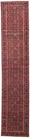 ハマダン パティナ 絨毯 78X380 オリエンタル 手織り 廊下 カーペット 赤/深紅色の (ウール, ペルシャ/イラン)