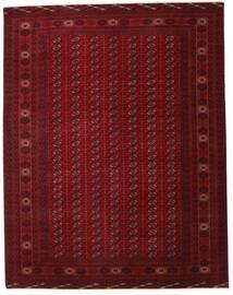 トルクメン パティナ 絨毯 305X390 オリエンタル 手織り 深紅色の/濃い茶色 大きな (ウール, ペルシャ/イラン)