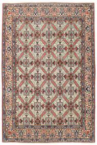 カシャン パティナ 絨毯 135X200 オリエンタル 手織り 濃いグレー/ベージュ (ウール, ペルシャ/イラン)
