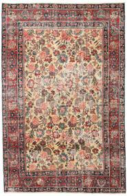 マシュハド パティナ 絨毯 185X285 オリエンタル 手織り 薄茶色/濃いグレー (ウール, ペルシャ/イラン)