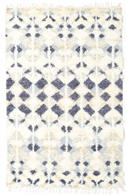Barchi/Moroccan Berber - インド 絨毯 156X243 モダン 手織り ベージュ/ホワイト/クリーム色 (ウール, インド)