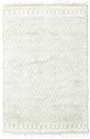 Barchi/Moroccan Berber - インド 絨毯 156X241 モダン 手織り ベージュ/ホワイト/クリーム色 (ウール, インド)