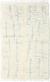 Barchi/Moroccan Berber - インド 絨毯 152X243 モダン 手織り ベージュ/ホワイト/クリーム色 (ウール, インド)