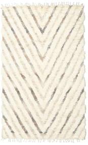 Barchi/Moroccan Berber - インド 絨毯 154X250 モダン 手織り ベージュ/ホワイト/クリーム色 (ウール, インド)