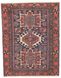 ヘリーズ パティナ 絨毯 96X123 オリエンタル 手織り 濃いグレー/錆色 (ウール, ペルシャ/イラン)