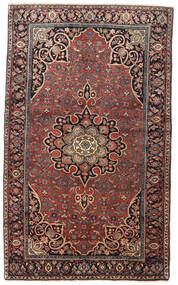 ビジャー 絨毯 129X212 オリエンタル 手織り 深紅色の/濃い茶色 (ウール, ペルシャ/イラン)