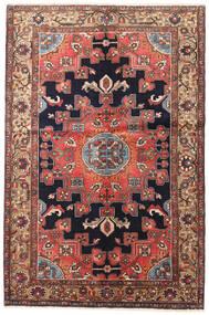 ハマダン 絨毯 135X200 オリエンタル 手織り 深紅色の/濃い茶色 (ウール, ペルシャ/イラン)