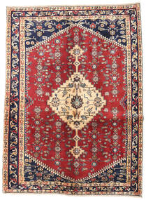 ハマダン パティナ 絨毯 128X170 オリエンタル 手織り ベージュ/濃いグレー (ウール, ペルシャ/イラン)