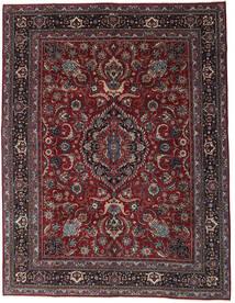 マシュハド パティナ 絨毯 304X398 オリエンタル 手織り 深紅色の/濃いグレー 大きな (ウール, ペルシャ/イラン)