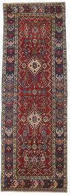 ヘリーズ パティナ 絨毯 105X305 オリエンタル 手織り 廊下 カーペット 深紅色の/濃いグレー (ウール, ペルシャ/イラン)