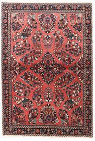 サルーク 絨毯 100X145 オリエンタル 手織り 深紅色の/濃い茶色 (ウール, ペルシャ/イラン)