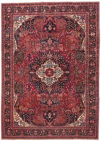 マシュハド パティナ 絨毯 257X362 オリエンタル 手織り 深紅色の/赤 大きな (ウール, ペルシャ/イラン)