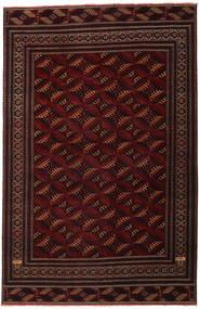 トルクメン パティナ 絨毯 262X408 オリエンタル 手織り 深紅色の 大きな (ウール, ペルシャ/イラン)