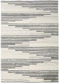 Zennia 絨毯 250X350 モダン 手織り 薄い灰色/暗めのベージュ色の 大きな (ウール, インド)