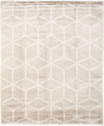Facets 絨毯 250X300 モダン 手織り 薄い灰色/ベージュ 大きな ( インド)