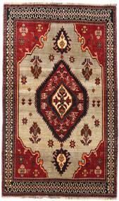 カシュガイ 絨毯 127X214 オリエンタル 手織り 深紅色の/濃い茶色 (ウール, ペルシャ/イラン)