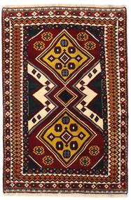 カシュガイ 絨毯 127X190 オリエンタル 手織り 深紅色の (ウール, ペルシャ/イラン)