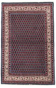 サルーク Mir 絨毯 97X151 オリエンタル 手織り 黒/深紅色の (ウール, ペルシャ/イラン)