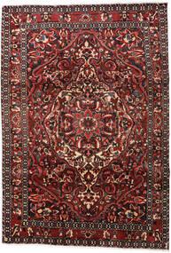 バクティアリ 絨毯 215X306 オリエンタル 手織り 深紅色の/濃い茶色 (ウール, ペルシャ/イラン)