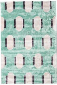 Catalpa - グリーン 絨毯 160X230 モダン パステルグリーン/ベージュ ( インド)