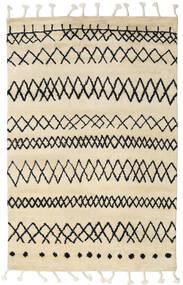 Beni Berber 絨毯 275X370 モダン 手織り ベージュ/濃いグレー 大きな (ウール, インド)