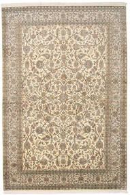カシミール ピュア シルク 絨毯 166X245 オリエンタル 手織り 暗めのベージュ色の/ベージュ (絹, インド)