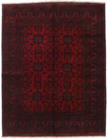 アフガン Khal Mohammadi 絨毯 154X198 オリエンタル 手織り 深紅色の (ウール, アフガニスタン)