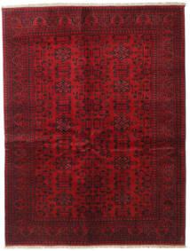 アフガン Khal Mohammadi 絨毯 150X196 オリエンタル 手織り 深紅色の/赤 (ウール, アフガニスタン)