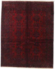 アフガン Khal Mohammadi 絨毯 155X195 オリエンタル 手織り 深紅色の (ウール, アフガニスタン)