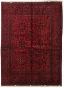 アフガン Khal Mohammadi 絨毯 153X206 オリエンタル 手織り 深紅色の/赤 (ウール, アフガニスタン)