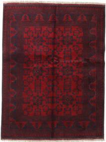 アフガン Khal Mohammadi 絨毯 152X197 オリエンタル 手織り 深紅色の (ウール, アフガニスタン)