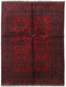 アフガン Khal Mohammadi 絨毯 152X196 オリエンタル 手織り 深紅色の (ウール, アフガニスタン)