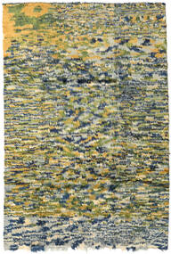 Moroccan Berber - Afganistan 絨毯 191X280 モダン 手織り オリーブ色/暗めのベージュ色の (ウール, アフガニスタン)