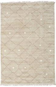 Beni - ベージュ/茶 絨毯 140X200 モダン 手織り 薄い灰色 ( インド)